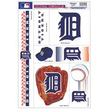 Detroit Tigers Ultra Decal Set