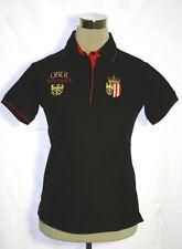 La Camisa Trachtenpolo Shirt Polo Tracht Wappen Oberösterreich Stickerei schwarz