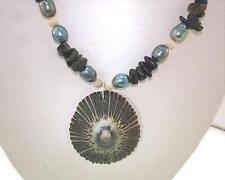 Genuine Hawaiian North Shore SeaShell & Gem Necklace #1