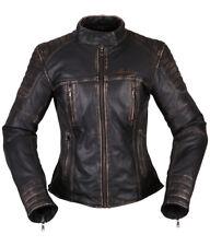 Motorcycle Leather Jacket Modeka Kalea Lady Color:Black