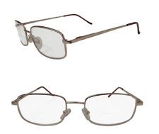 Bifocal Gold Executive Spring Hinged Reading Glasses Designer Metal Framed