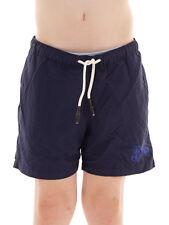 Brunotti Boardshort Badehose Coccia Swimwear blau Tunnelzug Taschen