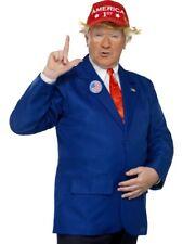hommes PRESIDENT Trump COSTUME DÉGUISEMENT USA Veste de tenue nouvelle par