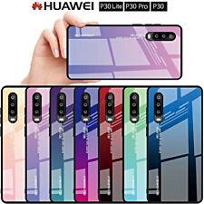 COVER per Huawei P30 / Lite / Pro ORIGINALE Gradient Glass RETRO VETRO TEMPERATO