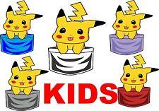 KIDS PICHACHU IN MY POCKET CUTE  FUN DESIGN T-SHIRT SIZES  S-XXL