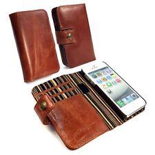 Alston Craig Vintage Portefeuille en cuir Bloc Aimant Case Cover Pour iPhone 5/5S/SE
