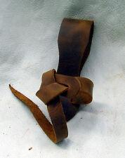 Trinkhorn Gürtelhalter aus Leder passend für alle Trinkhörner in vielen Farben