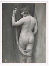 XXL grand format PHOTO DE NU féminin vers 1900 / GF7 risque sexy nude