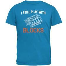 Auto Racing I Still Play With Blocks Mens T Shirt