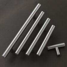 20x 50x Stainless Steel Cupborad Drawer Handles 12mm Pulls Furniture Door Knobs