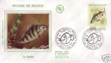 2664 FDC ENVELOPPE 1er JOUR SOIE  LA  PERCHE