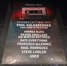 CREAMFIELDS / RADIO1 & OTHERS @ USHUAIA IBIZA CLUB POSTER 2012/13/14/15/16/17