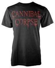 Cannibal Corpse 'Dripping Logo' T-SHIRT - NUOVO E ORIGINALE