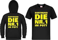 T-Shirt / Kapuzensweat DORTMUND DIE NR.1 IM POTT Ultra Hoodie, Kapu, Trikot