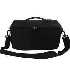 Carry Case Dslr Camera Shoulder Bag Camcorder Padded Deluxe Storage Bag Large