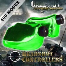 New TGC Custom Xbox One Controller LT RT Chrome Green Trigger Stops + T8 & T6