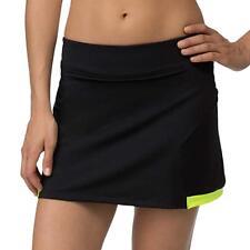 FILA Women's Tennis Natural Filled Black Platinum Skirt