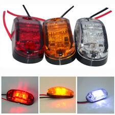 DEL Front Side Rear Marqueur Lumière Camion VAN remorques Indicateur Lampe 12 V 24 V Amber