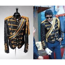 Men's Sequins Gold Bling Formal Suit Blazer Military Bar Club Coat Jacket Dress