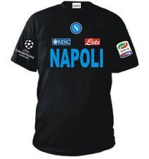 T-SHIRT NAPOLI CHAMPIONS LEAGUE maglietta CAVANI HAMSIK LAVEZZI felpa HIGUAIN NE