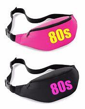 80s Belt Bag - 80's Fancy Dress Costume Outfit Neon Party Bum Waist