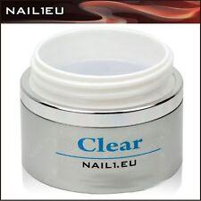 "PROFI Aufbau-Gel UV klar, sehr dick. ""NAIL1EU CLEAR"" 40ml/Nagelgel, Builder-Gel"
