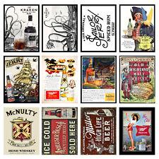 Alcohol Retro Metal Signs/Plaques Man Cave, Cool Novelty Gift, Bar/ Pub 9