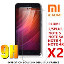 Film Protecteur écran Verre Trempé Xiaomi Redmi Note 5 5A 4 4X Redmi 5 Plus 4