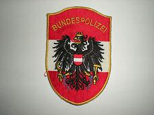 AUSTRIAN BUNDESPOLIZEI POLICE PATCH