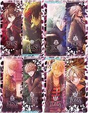 Amnesia Anime / Otome Game - Clear Poster Set of 2 - Ukyo / Toma / Ikki / Shin