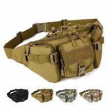 New Men Military Cycling Waist Pack Bum Belt Sling Bag Pouch Travel Hip Purse US