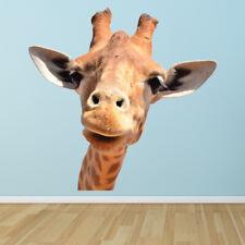 Grappige Giraf Kinderen Muursticker WS-41366