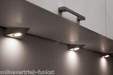 dimmbare LED Möbelleuchten Aufbau - Unterbauleuchten dreieck Küchenschrank Lampe