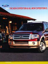 2007 Ford Expedition 30-page Original Sales Brochure Catalog - EL