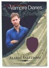 """MATT DAVIS """"ALARIC COSTUME CARD M18"""" VAMPIRE DIARIES S1"""