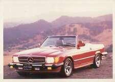 Mercedes Benz 1987, Dream Cars Trading Card, German Automobile --- Not Postcard