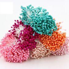 300Pcs/Bundle Double Heads Stamen Artificial Flower for Wedding Decoration