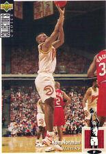 1994-1995 Upper Deck Collector's Choice Card Ken Norman #268 Atlanta Hawks