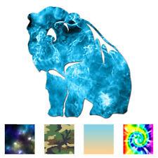 Bear Grizzly Kodiak - Vinyl Decal Sticker - Multiple Patterns & Sizes - ebn796