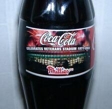 Philadelphia Phillies Veterans Stadium Coca-Cola Coke Bottle