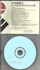 Eve's Plum VITAMIN C As Long You're w/ RARE REMIX PROMO DJ CD single eves Plum