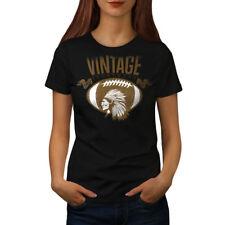American Football Vintage Women T-shirt S-2XL NEW | Wellcoda