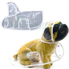 Impermeabile trasparente cappuccio cappotto giacca invernale cane dog inverno
