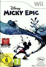 DISNEY Micky Epic (Nintendo Wii, 2010, DVD-BOX)