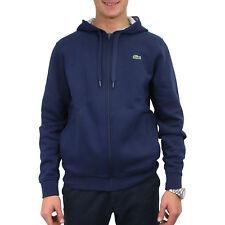 Lacoste Sweatshirt mit Kapuze Hoodie Pullover Jacke Herren Dunkelblau SH7609 KZA
