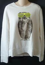Womens AEROPOSTALE Owl Swag Sweatshirt NWT #2312