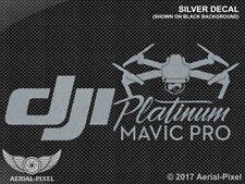 DJI Mavic Pro Platinum Window / Case Decal Sticker FPV Quadcopter Drone Phantom