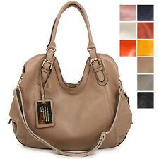 New GENUINE LEATHER purse handbag HOBO TOTE SHOULDER Bag [WB1086]