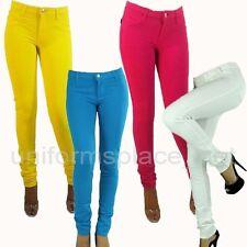 Womens Pants Junior's Slim Fit Moleton Stretch Skinny Legging Jegging Pant