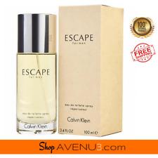 Calvin Klein ESCAPE for Men EDT Spray Cologne *BRAND NEW Sealed Box* 3.4oz/100ml